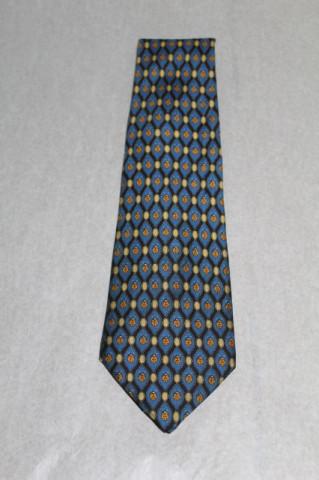 "Cravata print gargarite ""A. Mouley 1919"" anii '70"