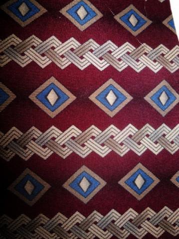 """Cravata retro visinie """"Christian Dior"""" anii '80"""