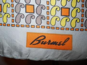 """Esarfa vintage """"Burmel"""" anii '60"""