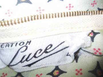 """Fusta """"Creation Luce"""" anii '70"""