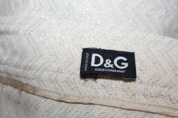 """Fusta din brocart crem si auriu """"Dolce & Gabbana"""""""