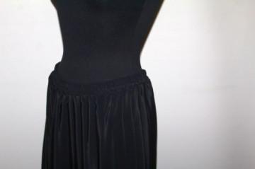 Fustă plisată neagră anii 70 - 80