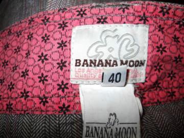 """Fusta retro """"Banana Moon"""" anii '90"""
