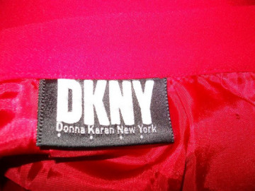 """Fusta rosie """"Donna Karan"""""""