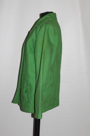 Jacheta denim verde acid anii '90