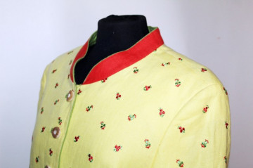 Jacheta galbena stil tirolez anii '80