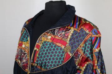 Jachetă print heraldic anii 90