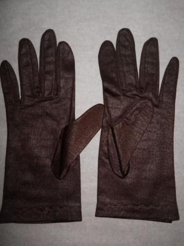 Manusi vintage maro inchis print reptila anii '60 - '70