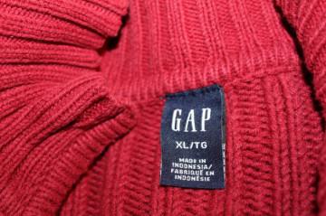 Pulover bărbătesc roșu Gap