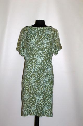 Rochie din mătase naturală Berkshire anii 60