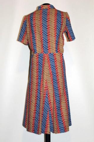 Rochie vintage model zigzagat anii '60
