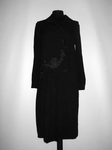 "Rochie vintage neagra ""Vicsor Bresana"" anii '20"