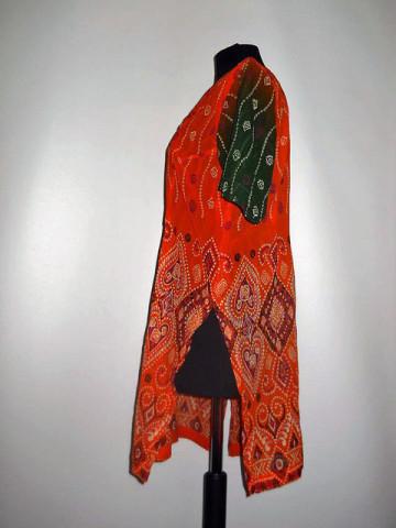 Bluza hippie portocalie anii '70
