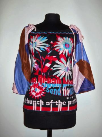 "Bluza retro ""Custo Barcelona"" anii '90"