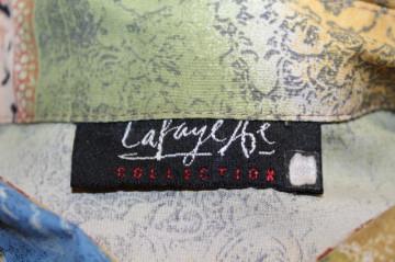 Cămașă retro Lafayette Collection anii 80