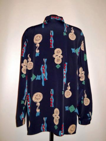 Camasa retro print abstract anii '80