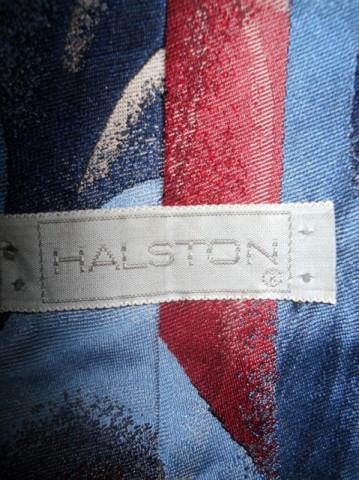 "Cravata retro ""Halston"" anii '80"