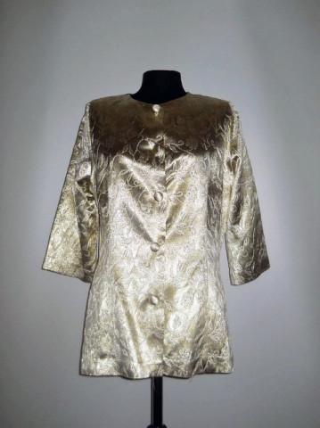 Jacheta retro din brocart anii '80