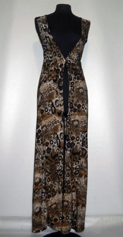Ovredress retro animal print anii '90