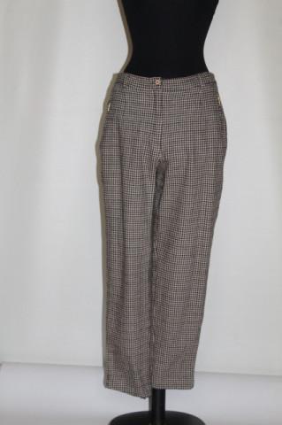 Pantaloni pied de poule anii 90