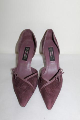 "Pantofi violet pruna ""5th Avenue"""