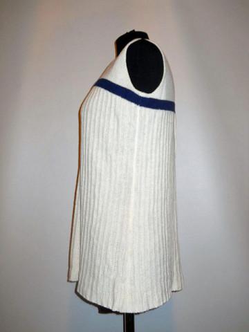 Pulover vintage fara maneci anii '70