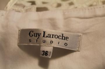 "Rochie alba ""Guy Laroche"""