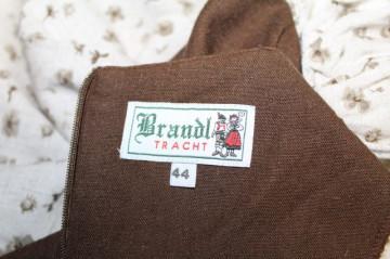 """Rochie """"Brandl Tracht"""" anii '80"""
