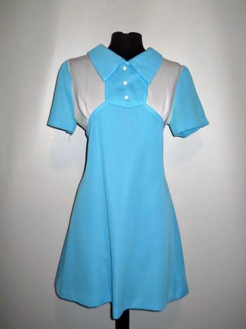Rochie mod bicolora anii '60