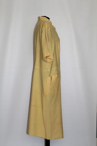 Rochie retro galben tulip tree anii '80