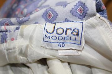 """Rochie vintage """"Jora Modell"""" anii '70"""