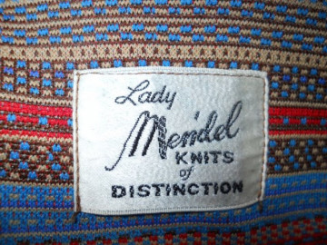 "Rochie vintage ""Lady Mendel"" anii '70"