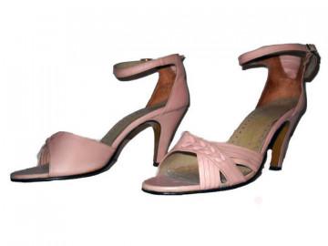 Sandale lila anii '40 - '50