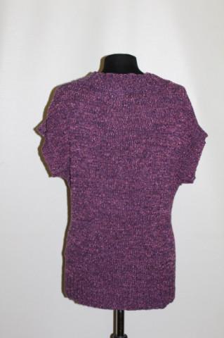 Vestă violet repro anii 70