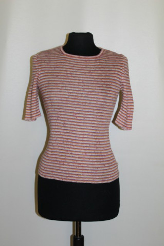 1970s Vintage t-shirt with orange stripes