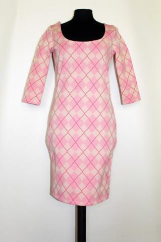 Rochie carouri roz repro anii '60