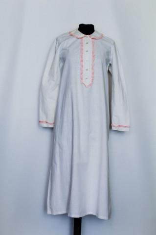 Camasa de noapte volanase roz perioada edwardiana cca. 1910