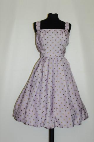 Rochie lila buline bronz anii '50