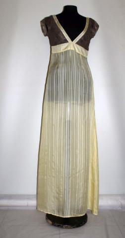 Rochie din matase naturakă și dantelă anii 90