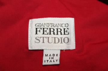 "Bluza rosie ""Gianfranco Ferre"""