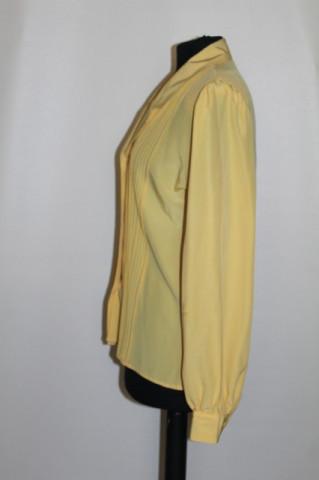Camasa retro galben confetti anii '80