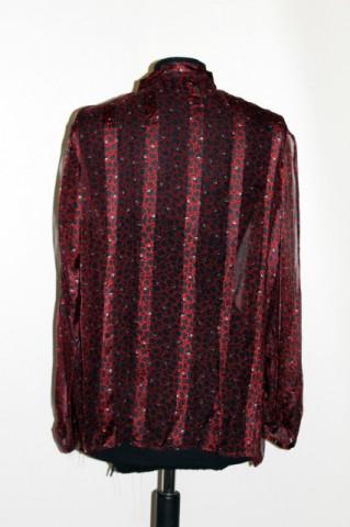 Camasa vintage din voal print abstract anii '60