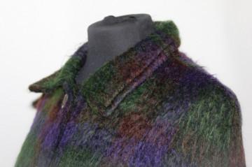 Capa carouri stilizate verde cu violet anii '60
