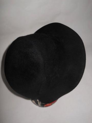 Cloche vintage negru anii '20