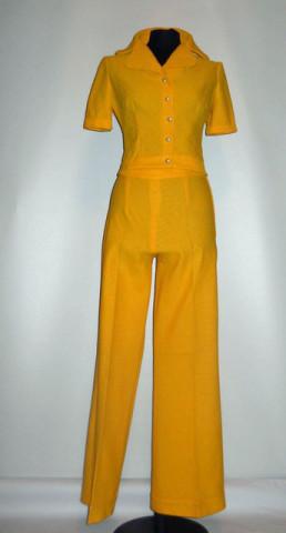 Deux pieces vintage galben anii '60