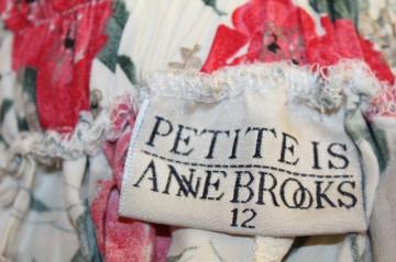 "Fusta retro ""Anne Brooks"" anii '80"
