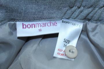 "Fusta retro ""Bonnemarche"" anii '80"