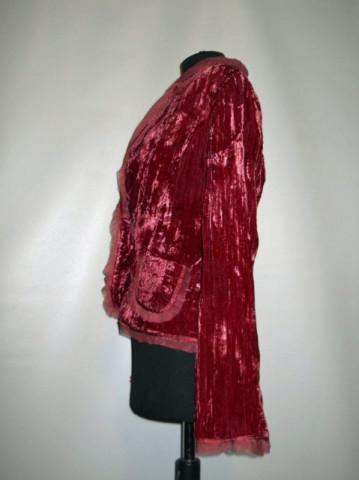 Jacheta retro din catifea anii '90