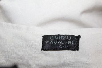 """Pantaloni crem """"Ovidiu Cavaleru"""""""