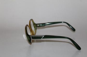 Rame de ochelari de vedere verzi Vienna Line - Optyl anii 70- 80